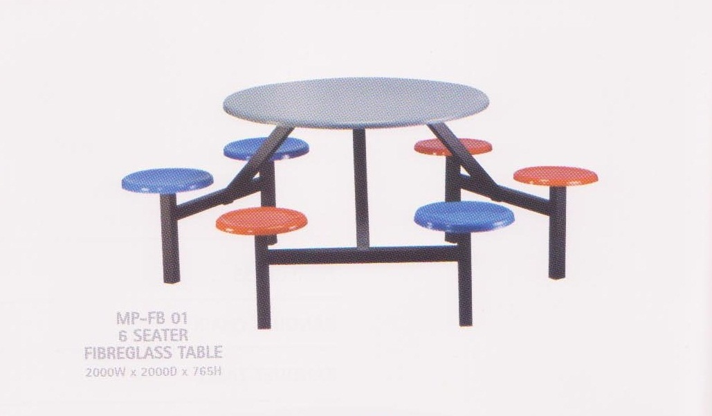 Fibreglass Table & Chair