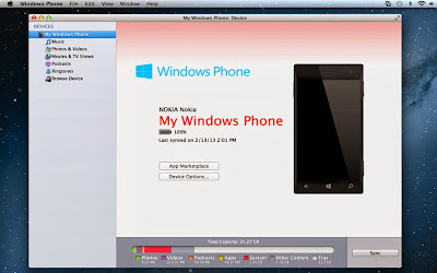 Windows Phone Connector for Mac Machine
