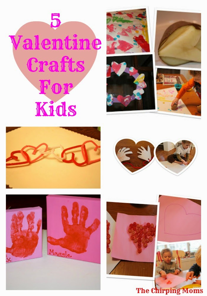 Valentine Crafts for Kids || The Chirping Moms