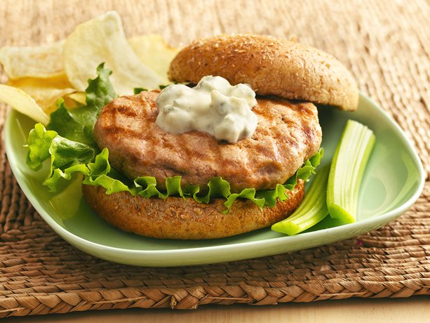 Just Simply Cook: Buffalo Blue Cheese Grilled Chicken Burger