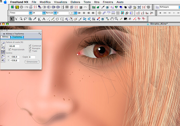Download FreeHand MX 1102 - Gratis in Italiano