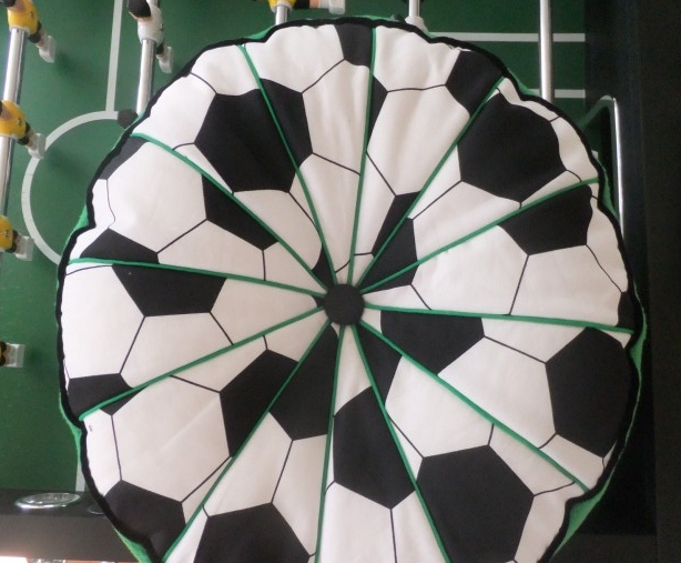 Fussballsitzkissen