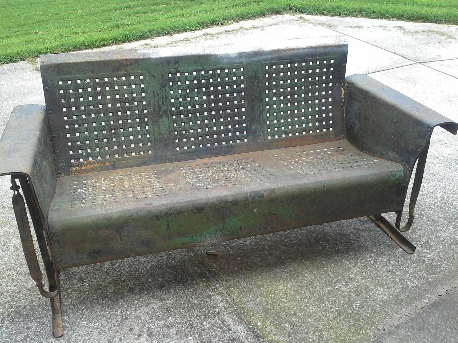 Vintage Porch Glider Restoration