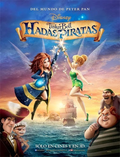 The Pirate Fairy (Campanilla Hadas y piratas) (2014)