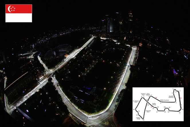 Circuito Callejero De Marina Bay : Fascinating formula 1: los circuitos 2015: marina bay
