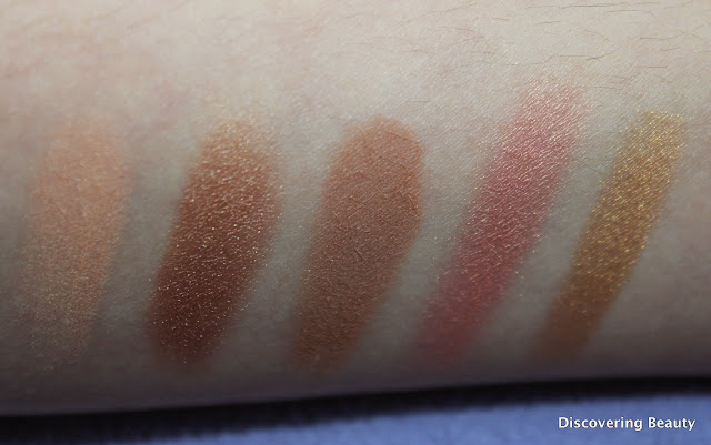 Heatwave smashbox swatches