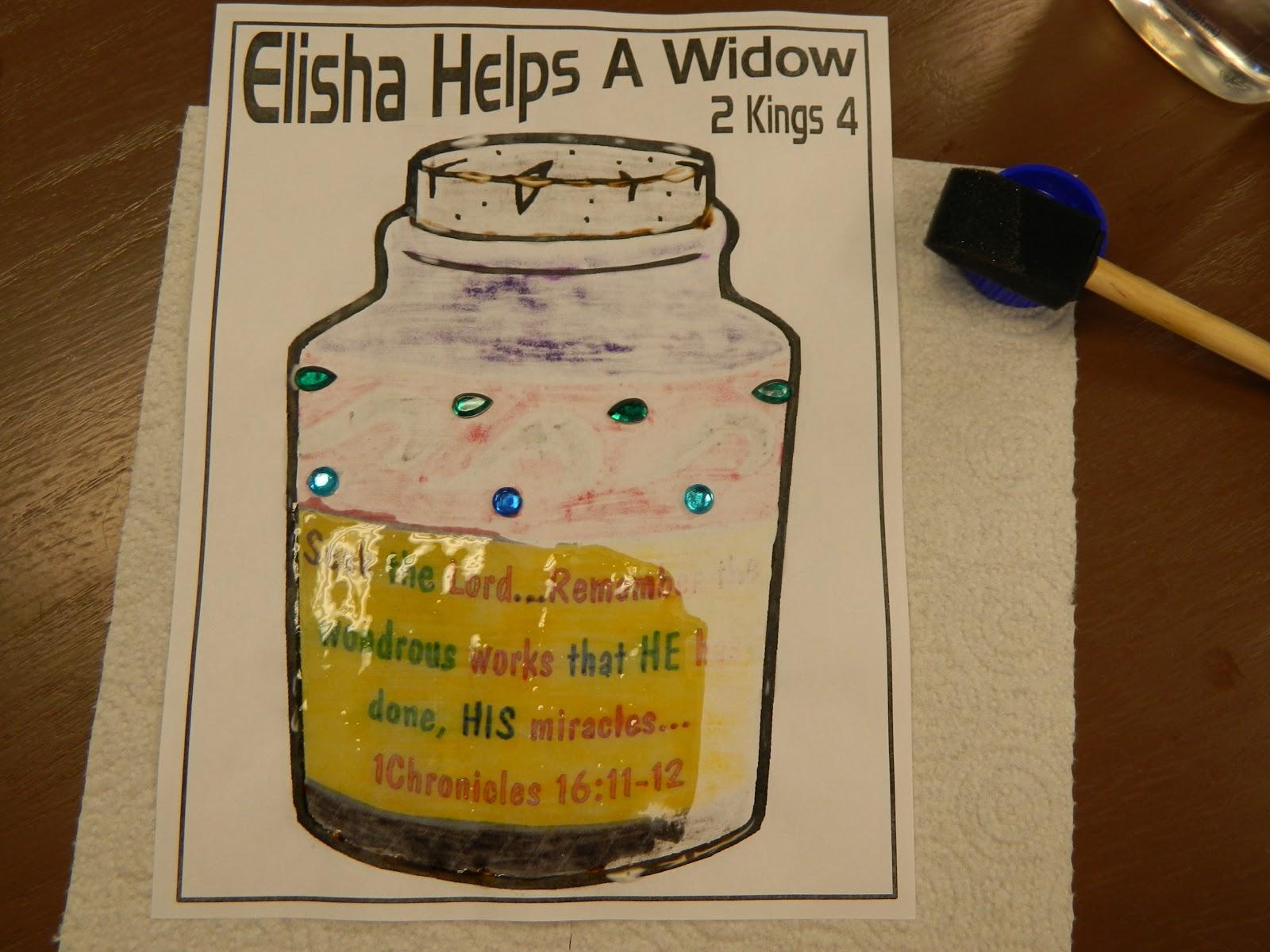 Elijah And The Widow Craft