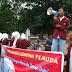 Aksi Damai SMA Terpadu Al-Qudwah (SMATA) Kalanganyar