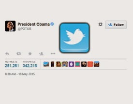 president-Obama-first-official-tweet