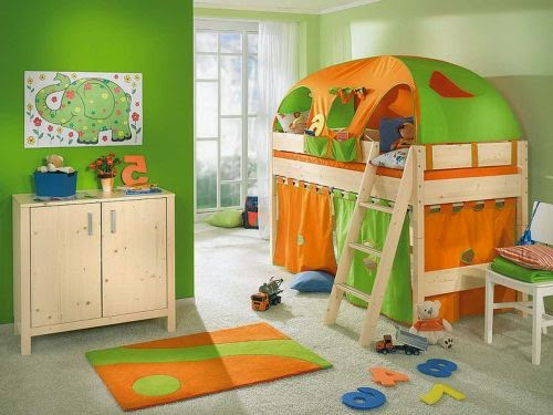 Boys Room Paint Ideas Green