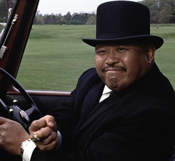 Harold Sakata Oddjob Goldfinger jamesbondreview.blogspot.com