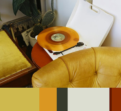 model belgium apartment vinyl record couch velvet cactus colors