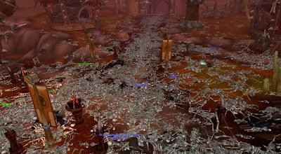 screenshot of the WoW massacre
