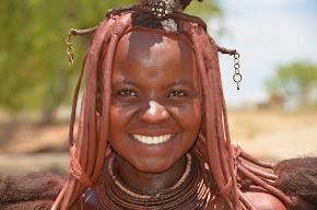 Himba Chuashoura, getroffen im Kaokaveld in Namibien