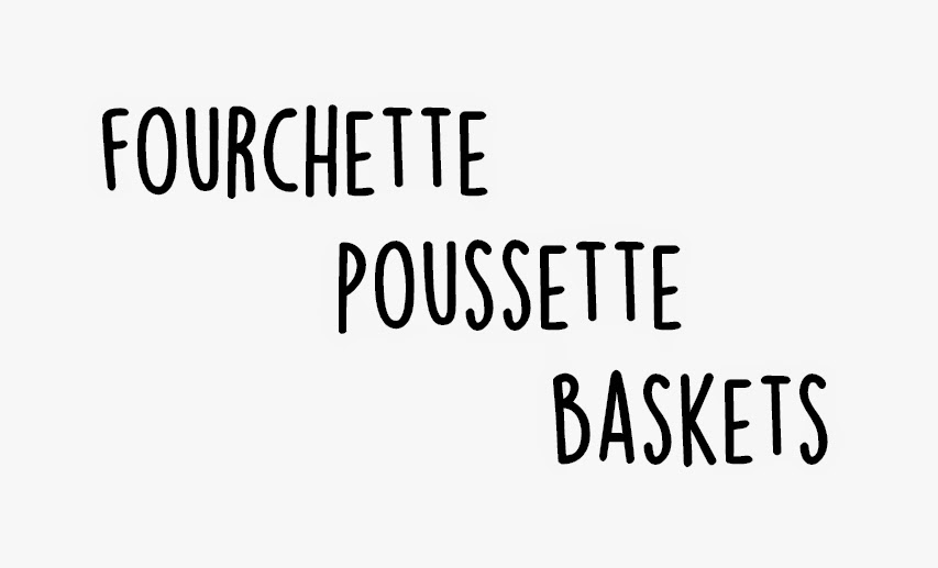 FOURCHETTE. POUSSETTE. BASKETS