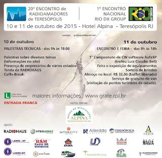 20⁰ Encontro de Radioamadores & 1⁰ Encontro Nacional do Rio DX Group