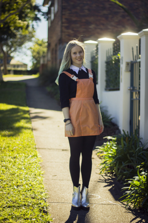 Fashion blog pinafore