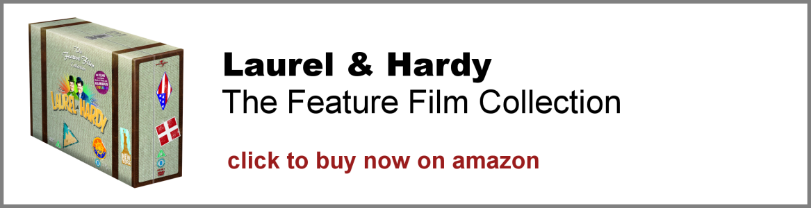 Laurel and Hardy: The Feature Film Collection DVD box set