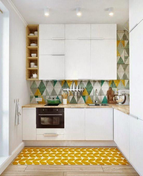 decoracin de cocinas pequeas - Diseo De Cocinas Pequeas