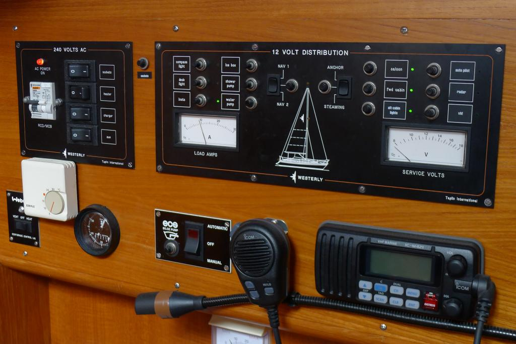 1995 Centre cockpit 35ft Westerly Oceanquest just listed.