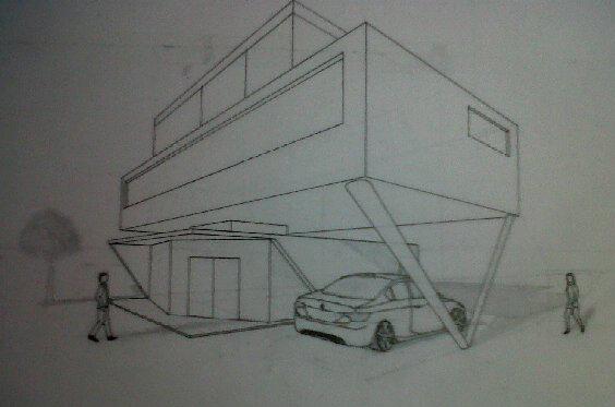 Arquitectura salvador g portada geometria ii for Exterior un punto de fuga