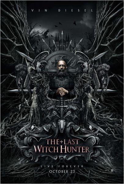 """Poster de """"El último cazador de brujas"""""""