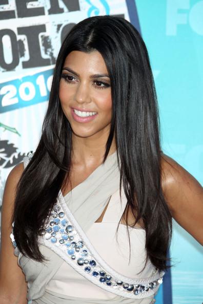 Kourtney Kardashian Hair