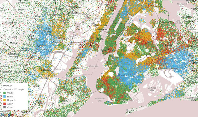 I\'d Map That: Visualizing Race and Ethnicity