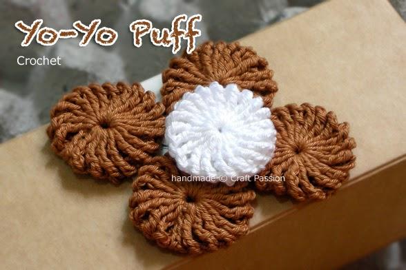 visto navegando muchas cosas adornadas con estos Yo-yos de crochet ...