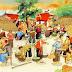 Chợ Tết còn nguyên sắc màu thương nhớ