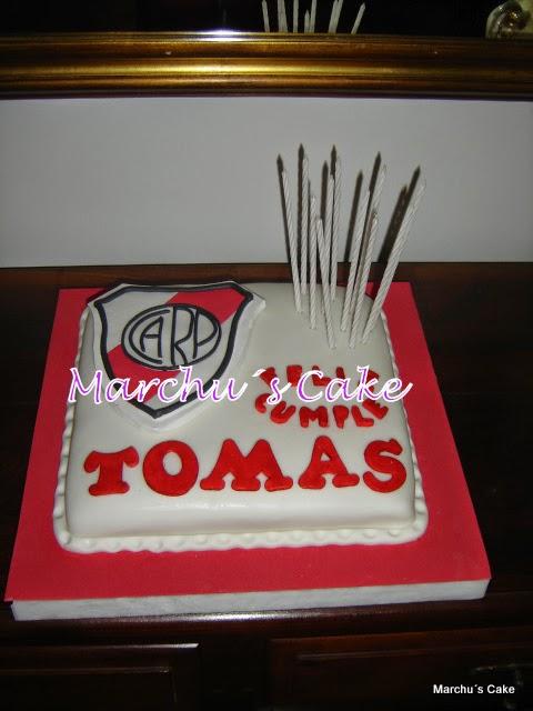 "Torta decorada infantil ""Escudo River"""