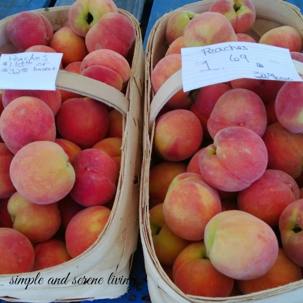 farmers market South Carolina peaches