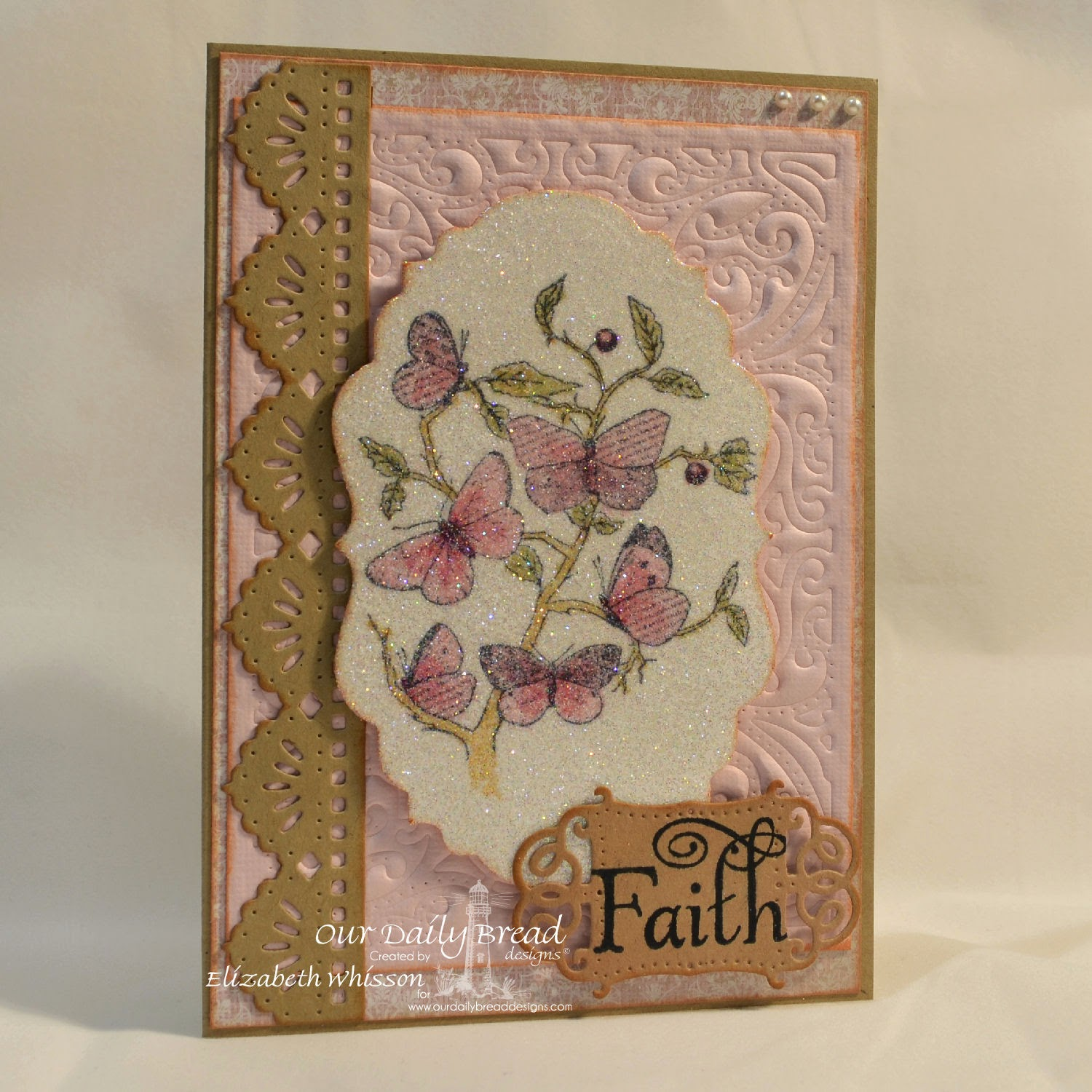 Our Daily Bread Designs, Faith, Vintage Labels, Vintage Flourish Pattern, Beautiful Borders, Heart and Soul Collection