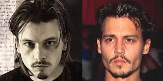 Skeet Ulrich e Johnny Depp