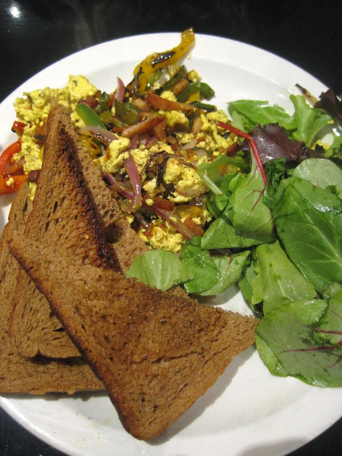 Get Scrambled Tofu Scramble - Champs Diner Vegan Brooklyn Veega Blog