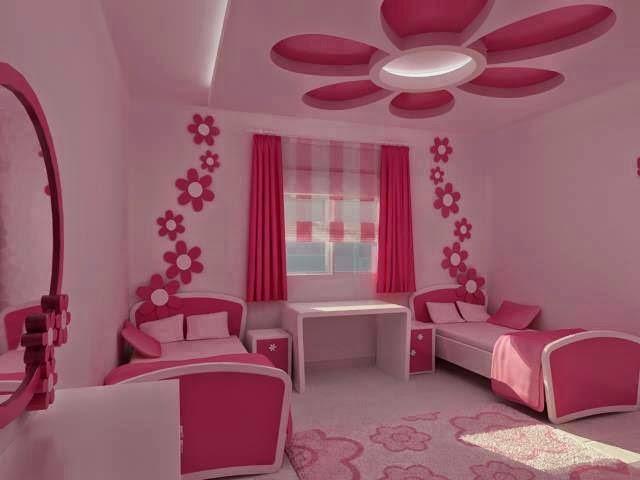 اجمل غرف النوم للبنات