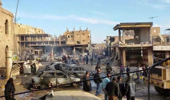 Terkait Serangan Suriah di Raqqa, Amerika : Serangan ini Mengerikan