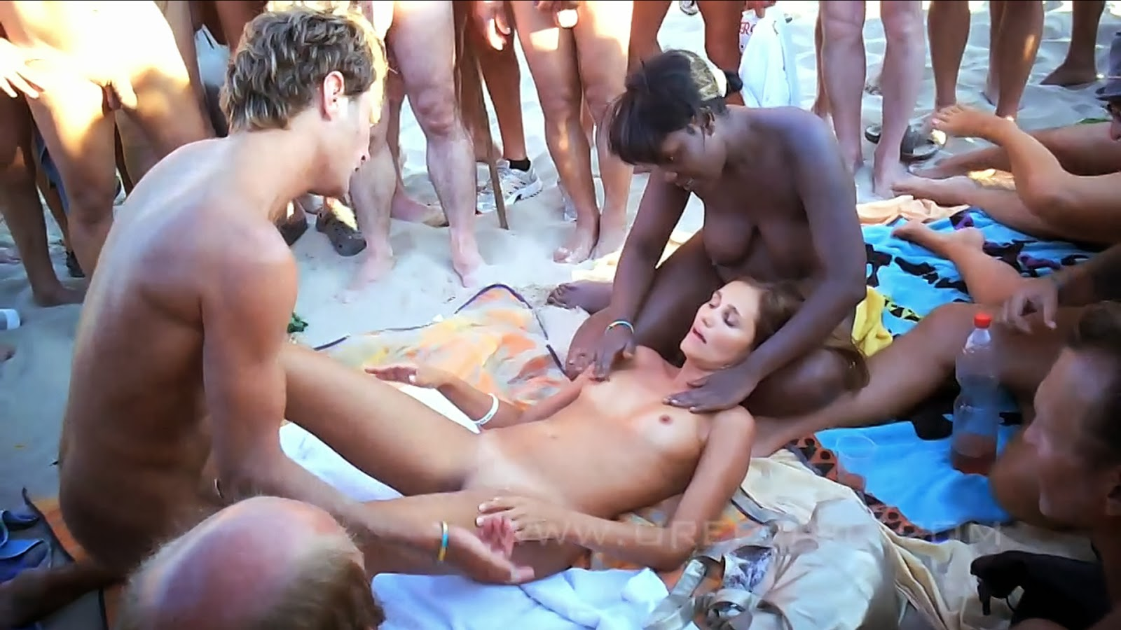 beach sex swingers