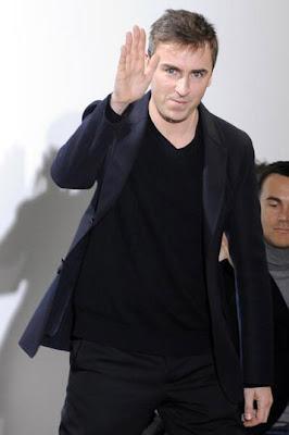 Raf Simons director creativo de Dior