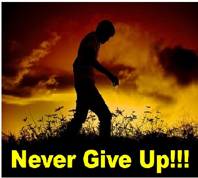 never give up- get success, don't loose hope, success, motivation, inspiring, motivational, inspirational
