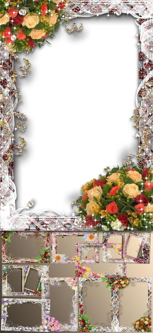 mix romantic frame for photo 9 png png 4500 o 3000 300 dpi 107 10