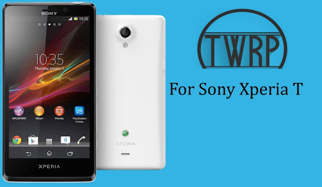 Twrp recovery for sony xperia t mint and Lt30p