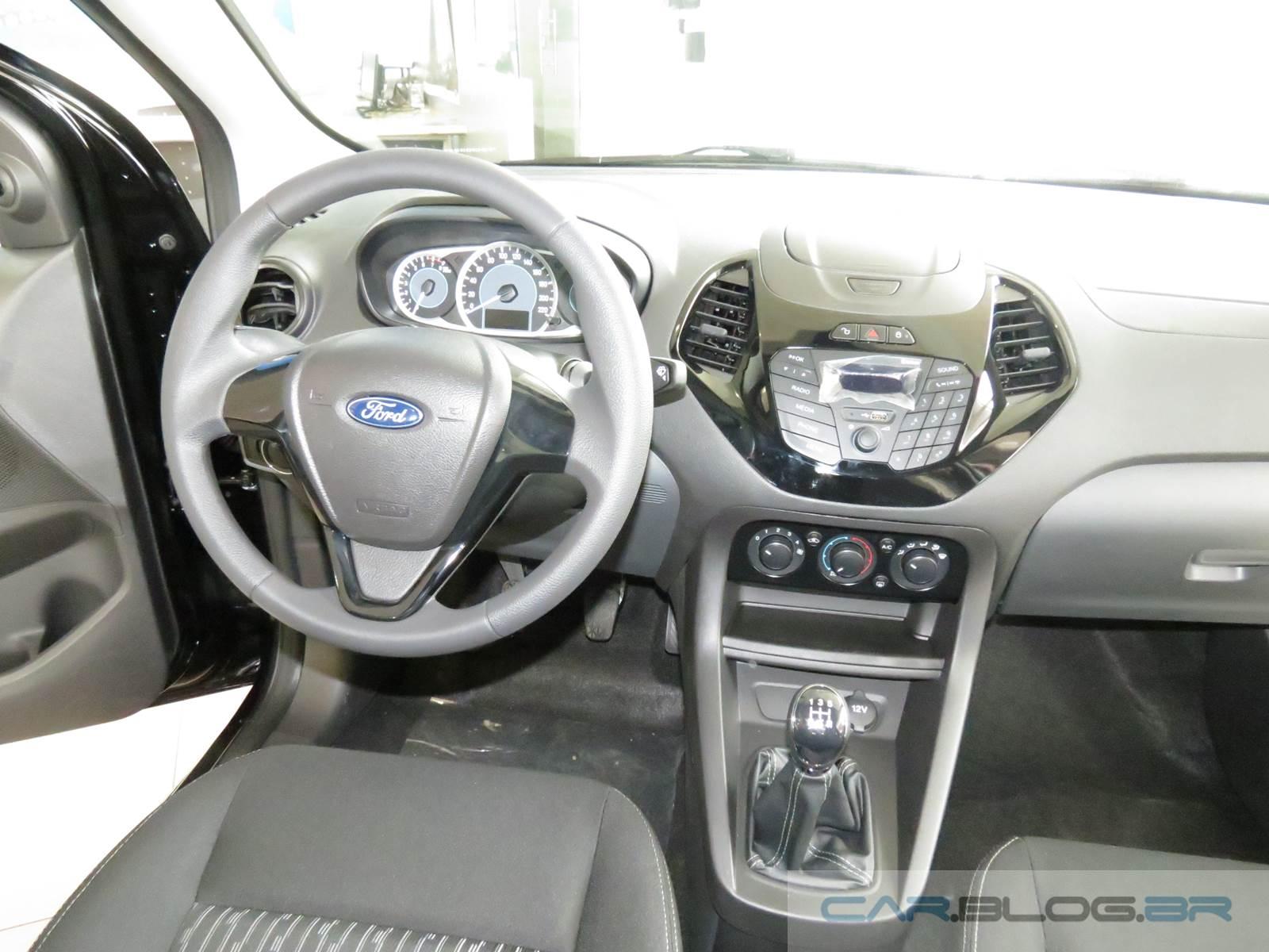 Novo Ford Ka+ SE (Sedan)