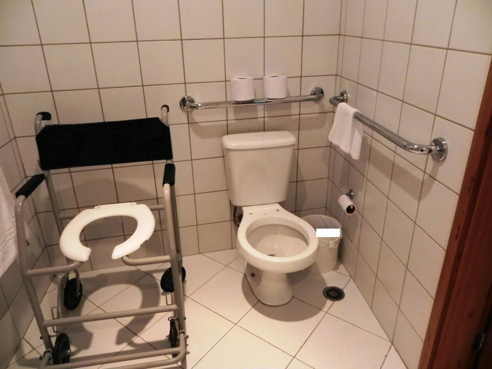 Acessibilidade na Prática: Banheiro acessível Go Inn Jaguaré  #986A33 1600x1200 Banheiro Adaptado Para Cadeirante