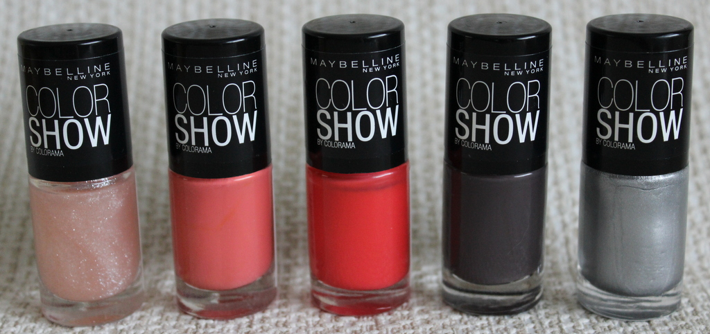 Maybelline Color Show nail polishes - photos, swatches   Lovely ...