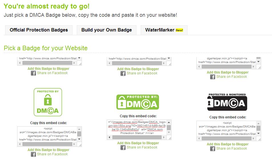 DCMA - Lindungi Konten Situs Dengan DCMA 5