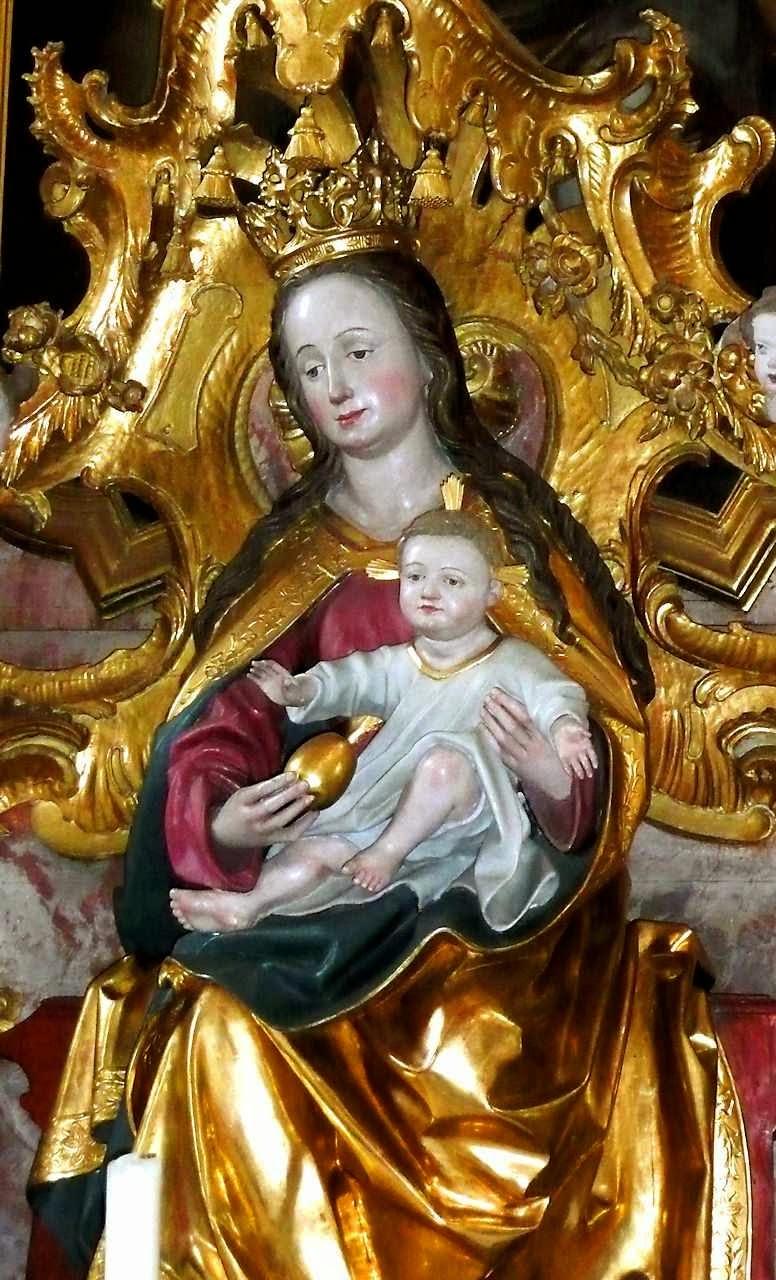 Nossa Senhora com o Menino Jesus, Rottenbuch, Alemanha