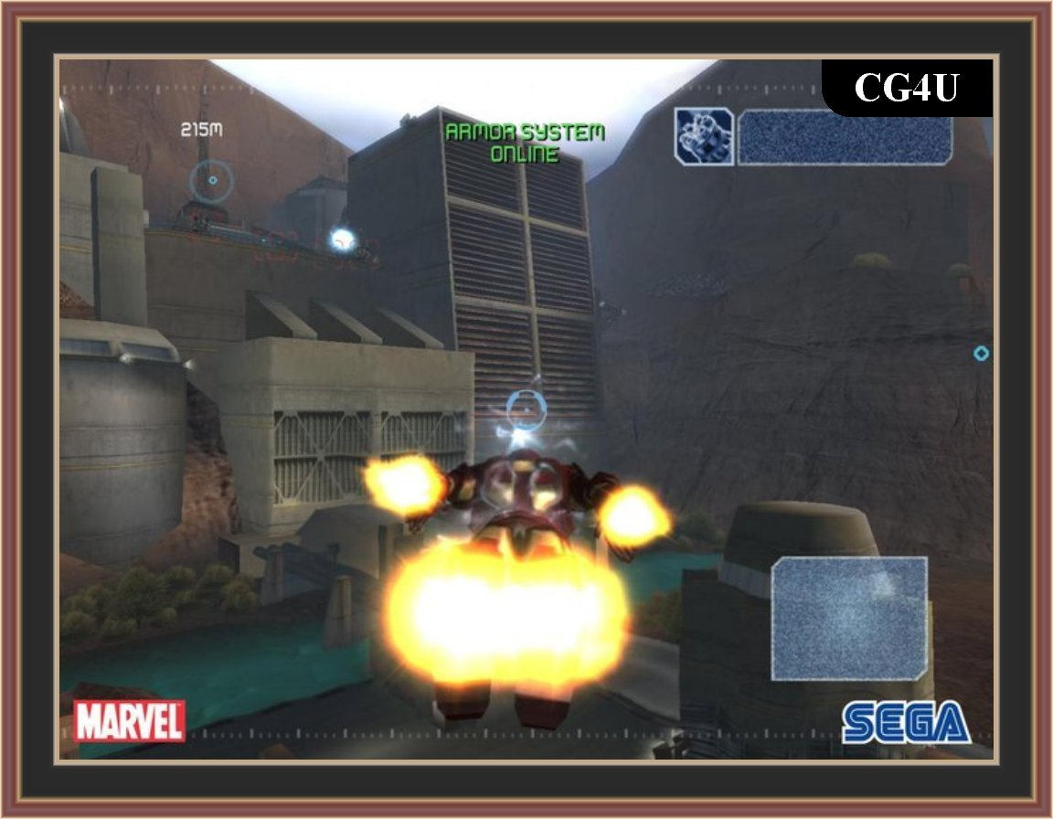 Iron Man Pc Game Screenshot