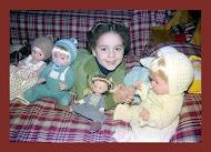 A vestir a los muñecos...