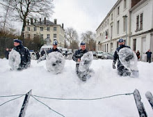 Bombeiros belgas protestam